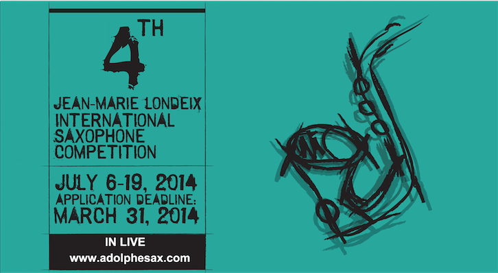 4th JEAN-MARIE LONDEIX INTERNATIONAL SAXOPHONE COMPETITION
